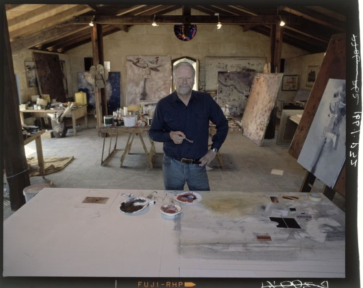 216384PD: Artist and sculptor Robert Juniper in his studio, c1987.  http://encore.slwa.wa.gov.au/iii/encore/record/C__Rb2436513__S216384PD__Orightresult__U__X3?lang=eng&suite=def
