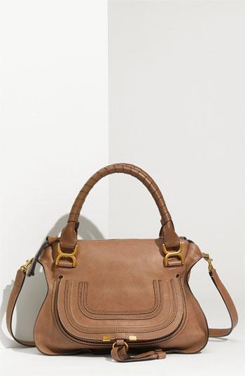 Chloé 'Marcie - Small' Calfskin Satchel, my new favorite bag, Love it!!!: Handbags 8211, Calfskin Satchel, Chloe Handbags, Chloé Marci, Chloe Bags, Design Handbags, Marci Calfskin, Awesome Handbags, Chloe Marci Bags