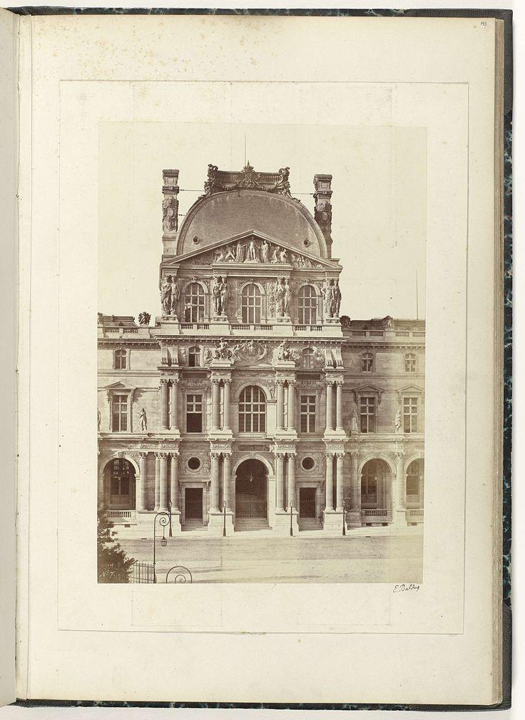 Paviljoen Denon van het Louvre, �douard Denis Baldus, ca. 1857