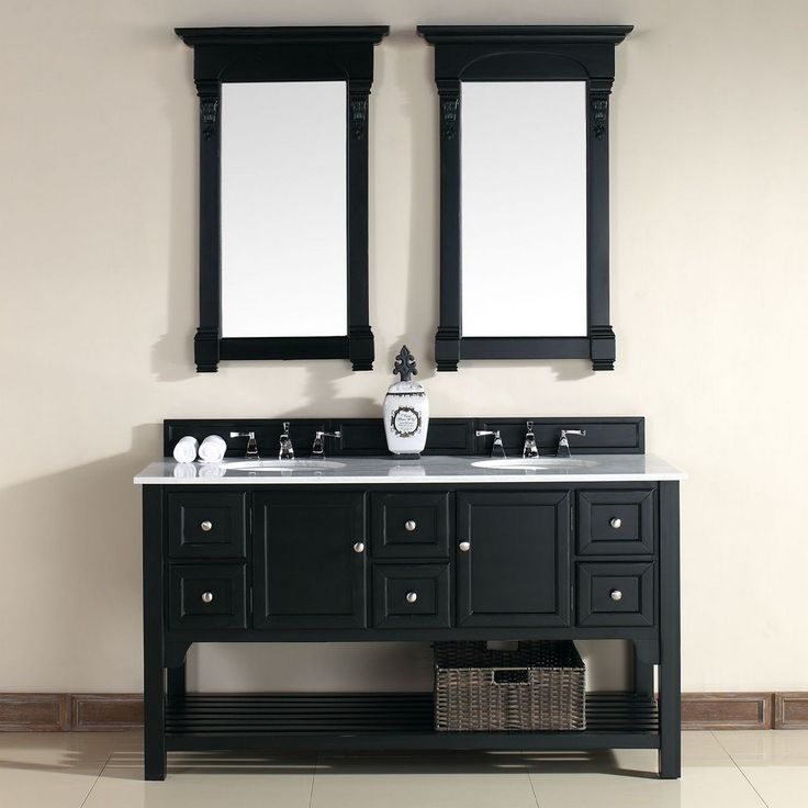 Best Photo Gallery Websites South Hampton ud Traditional Double Sink Bathroom Vanity in Antique Black by James Martin Model