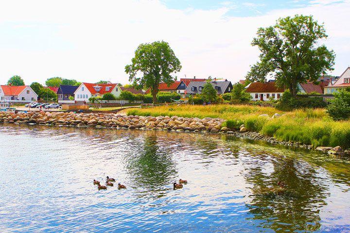 A quaint fishing village at Österlen area in Skåne.