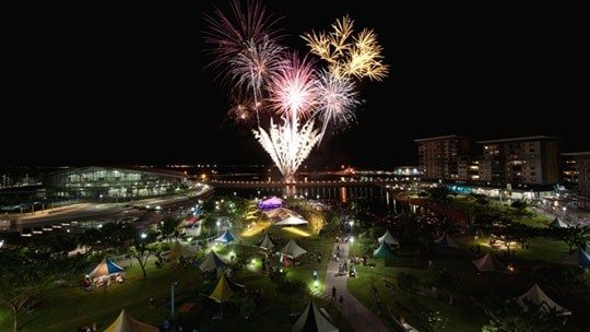 New Year's Eve at the Waterfront - Darwin - Northern Territory