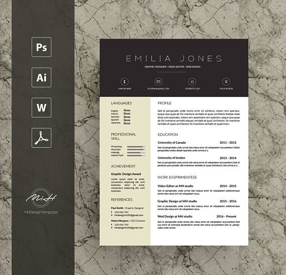 The  Best Professional Letterhead Template Ideas On