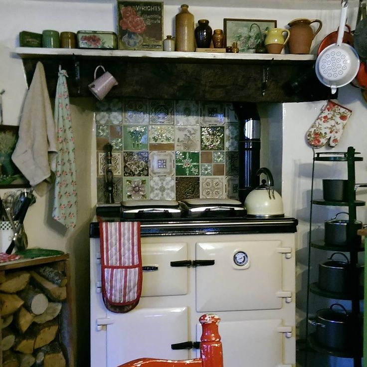 247 Best Images About English Kitchens & AGA Stoves On
