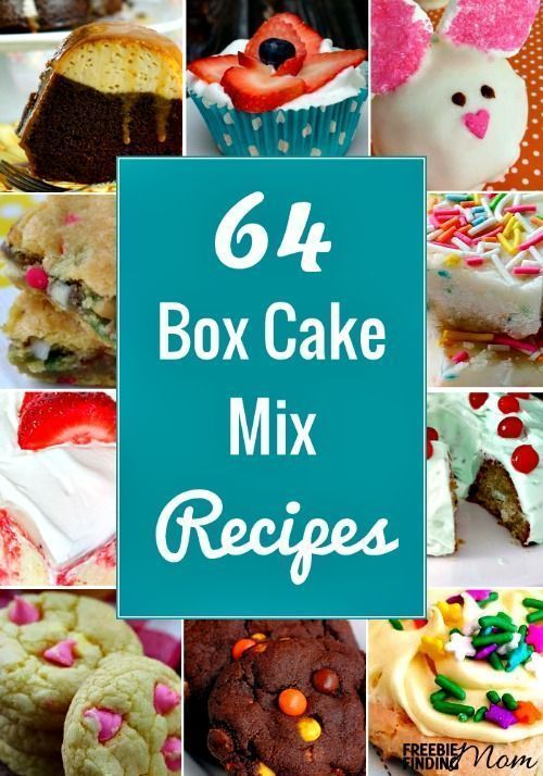 Need a quick, easy and delicious recipe on the cheap? Look no further than these 64 semi homemade box cake mix recipes. Here you'll find cookies, cakes, muffins, fudge, and other decadent recipes that require fewer ingredients and take less time to make but will still satisfy everyone's taste buds. Oh, and there's no need to tell anyone that these recipes are made with box cake mixes. It's our secret!