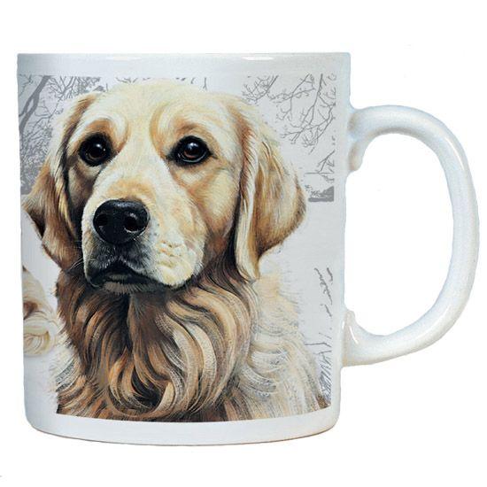 Golden Retriever Chunky Mug