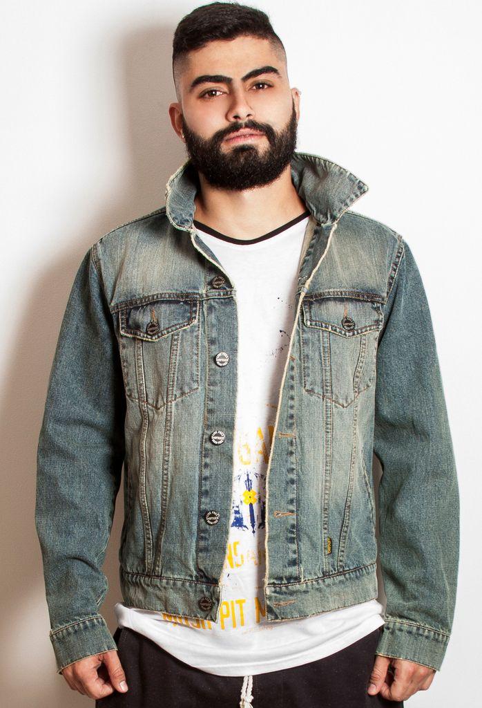 Chaqueta denim beFREEclothing — beFREE clothing #denim #denimjackets #chaquetasdenim #menswear #vestuariomasculino
