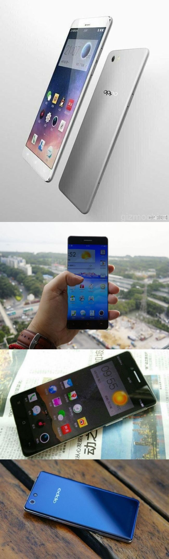#Oppo R7 Leaked in New Image