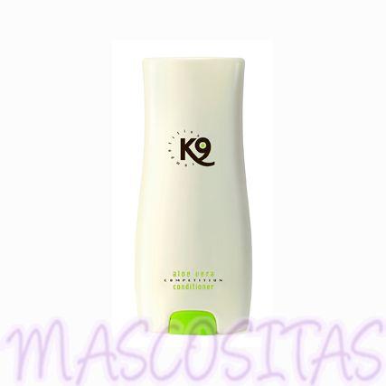 K9 Aloe Vera Acondicionador es apto para cualquier tipo de manto y raza, para cachorros y adultos, para todos los animales domésticos, para el uso a diario, el profesional de peluquería y la competición.