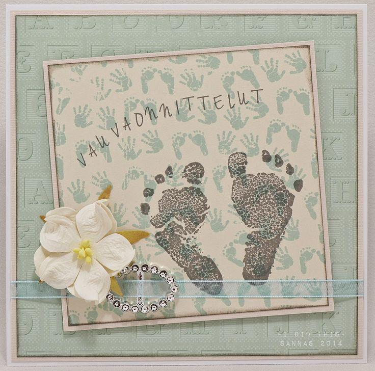 hemppiksiä vauvakortteja...