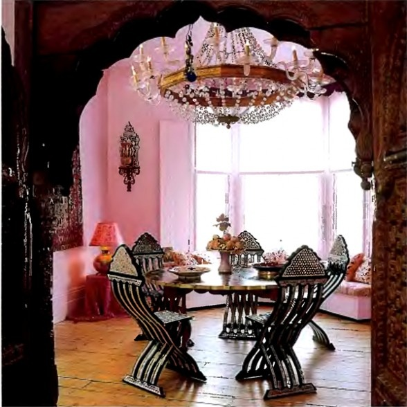 The 208 best Pink Dining Rooms images on Pinterest