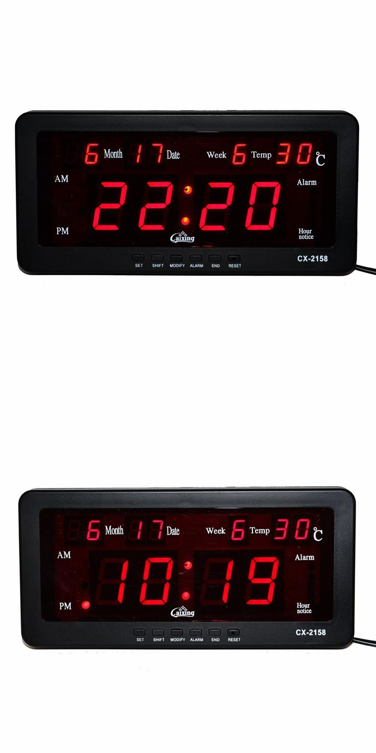 Digital led wall clock image collections home wall decoration ideas best 25 led wall clock ideas on pinterest boy dorm rooms cool electronic alarm clock digital amipublicfo Choice Image
