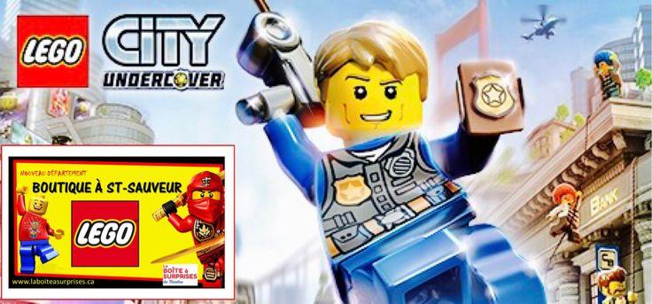 LEGO CITY à St-Sauveur à La Boîte à Surprises de Nicolas Département en boutique Lego Laurentides, Vaste choix + Prix compétitifs! #lego #Saintsauveur