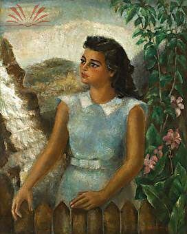 Título :Retrato de Moça Paulista Artista :Annita Catarina Malfatti - Anita Malfatti - Anita Malfati Técnica :Óleo sobre Tela Dim. :100 x 80 cm