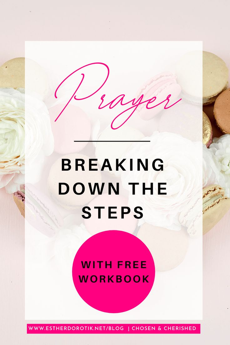 Free bible study workbook on how to be still and pray 8