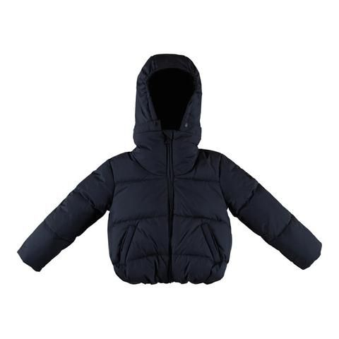 Finger in the Nose Snowangel Cropped and Large Down Jacket Navy