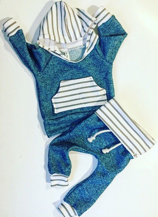 Baby boy outfit / baby clothes / take home outfit / newborn baby girl / baby boy gift / hospital outfit / blue / stripes / boy toddler by BornApparel on Etsy https://www.etsy.com/listing/459315154/baby-boy-outfit-baby-clothes-take-home