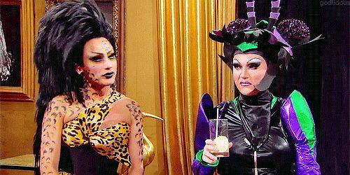 Bianca Del Rio and BenDeLaCreme, RPDR Season 6 #UntuckedDrama