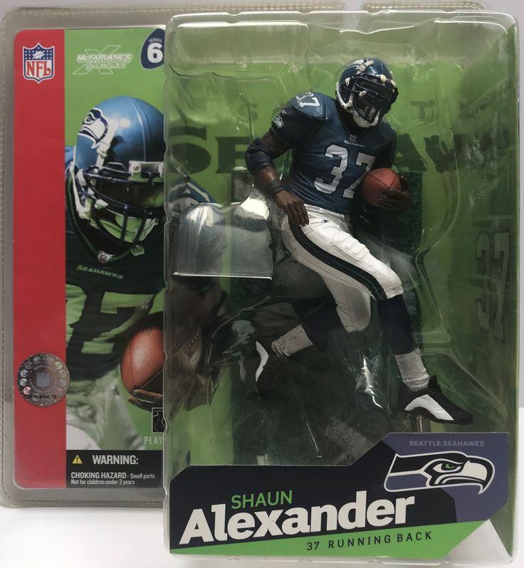 TAS038825 - 2003 McFarlane Toys NFL Figure Seahawks Shaun Alexander