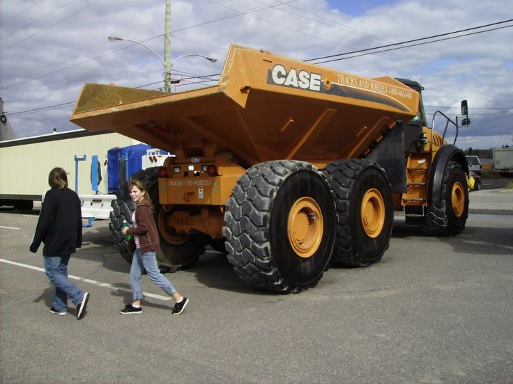 Randy Miller Inspiration Mining Carrier Truck on Cleaver Property