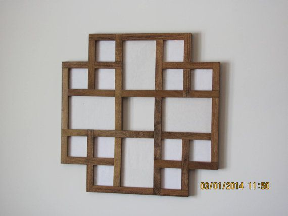 Multiple Pictures Frame Collage Frame Multiple by ZimWoodworking