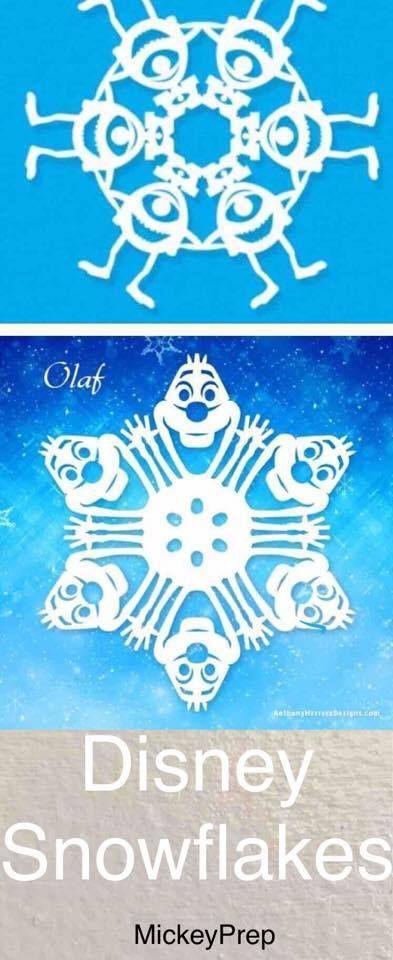 disney snowflakes                                                                                                                                                                                 More