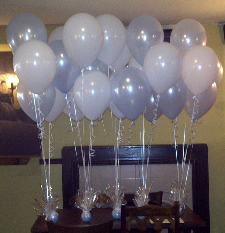 38 best christening decorations to impress images on for Balloon decoration ideas for christening