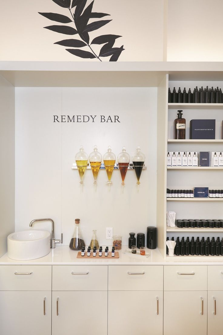 Dreams of opening up a modern apothecary.