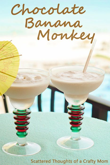 How to make a Chocolate Banana Monkey. (Specialty drink recipe from the Royal Resorts.)