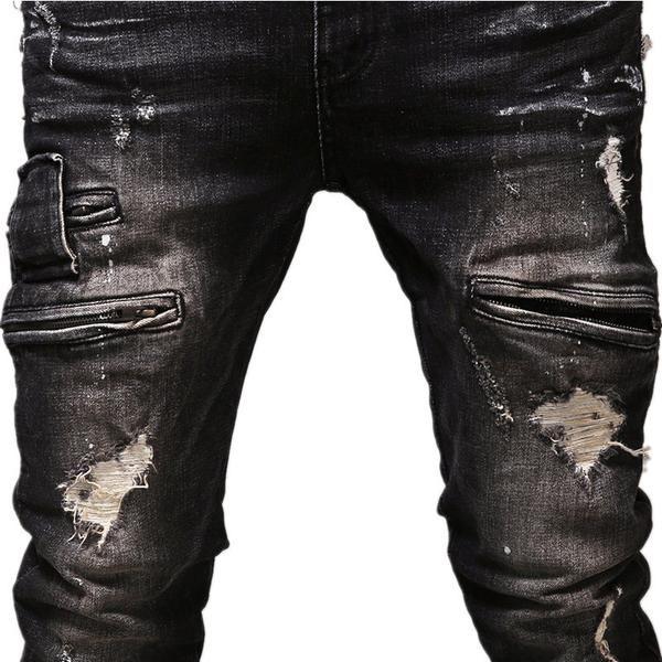 Slim - Slim ripped jeans - shopurbansociety