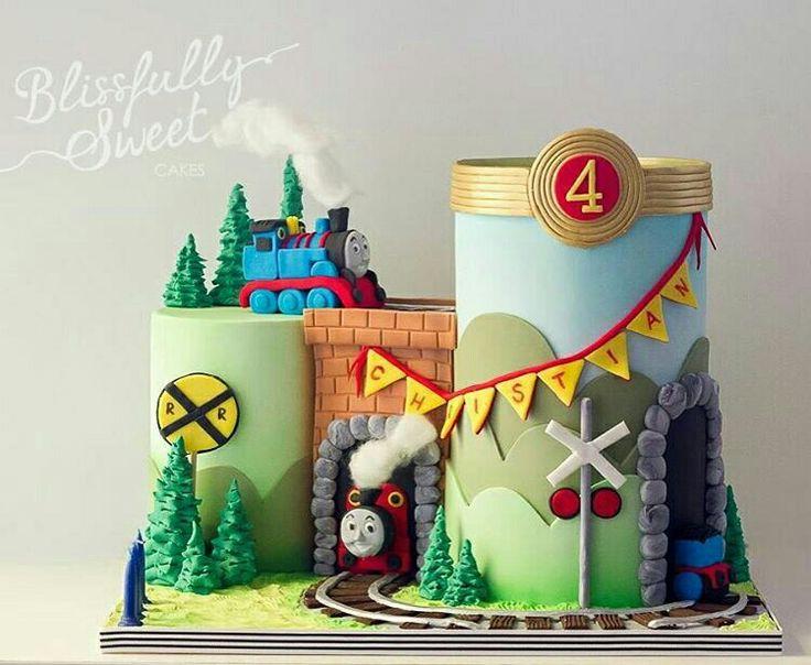 52 best thomas the tank engine cakes images on pinterest for Babycakes multifunction decoration station
