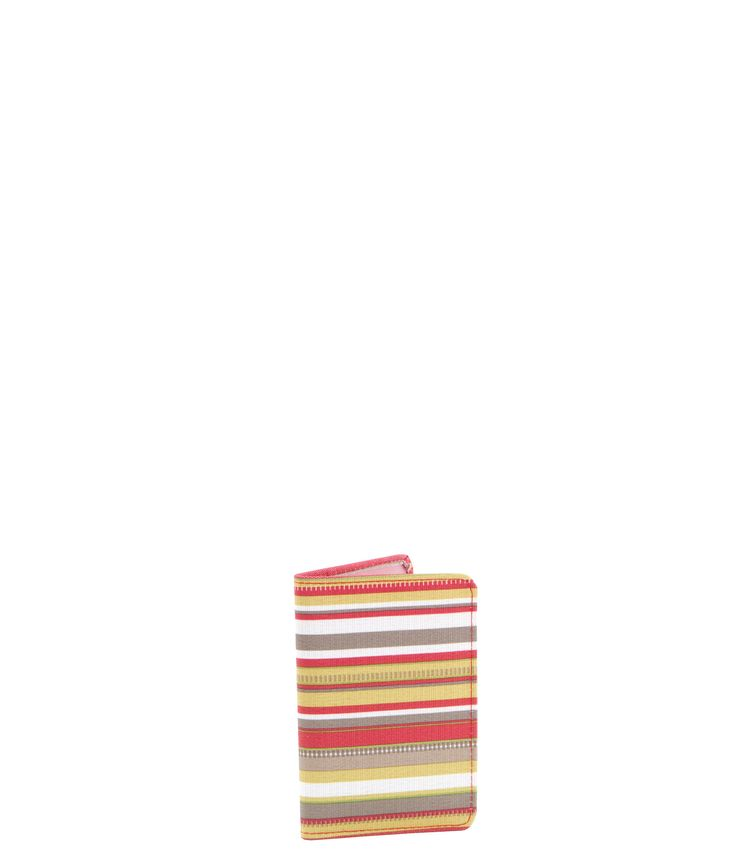 Spencer and Rutherford - sale - Passport Sleeve - Passport Cover - Summer Bloom/Stripe