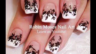 Robin Moses Nail Art - YouTube