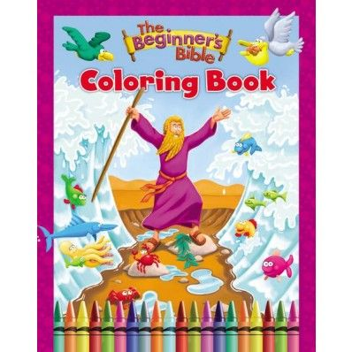 Sometimes, we open our child's Beginner's Bible to find...oh no! Scribbles in marker and colored pencils all over the pages! Avoid this by letting your children color through the stories of the Bible with our Beginner's Bible Coloring Book. Same illustrations that you and your child love, ready for coloring with whatever the heart desires!