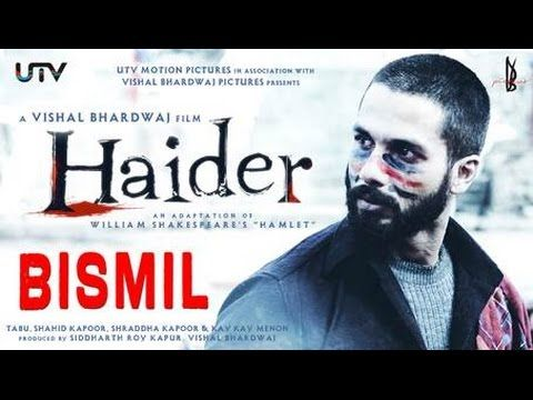 "Presenting ""Bismil"" song in voice of ‪#‎SukhwinderSingh‬ from movie ‪#‎Haider‬."