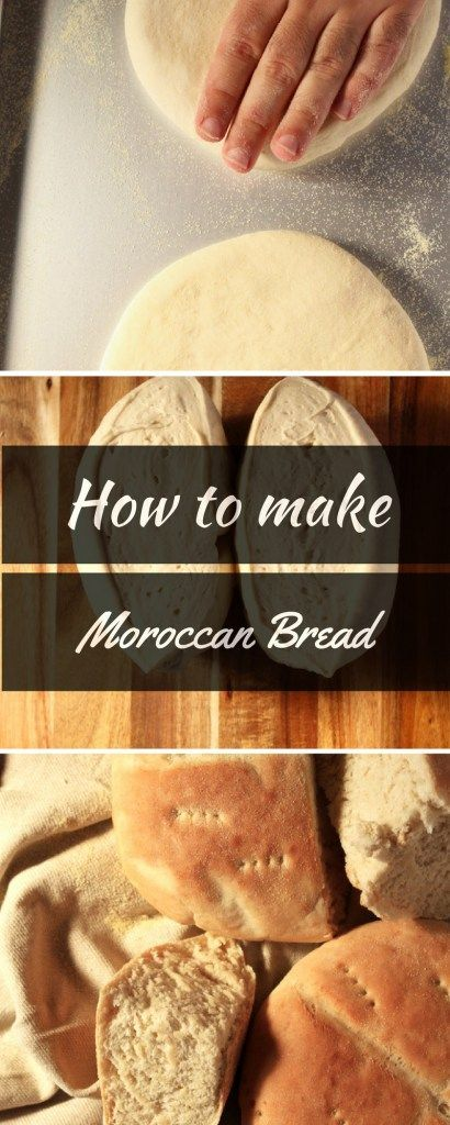 Moroccan Bread- Get a little taste of morocco with this easy and straightforward recipe. This is the real deal ! -http://BrokeFoodies.com