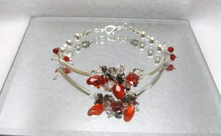 Ruby Tears - Jewelry creation by Linda Foust