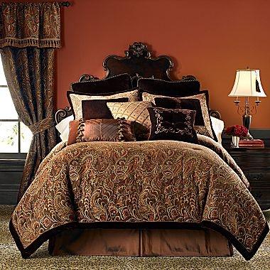 Chris Madden Palme Chenille Comforter Set & More ...