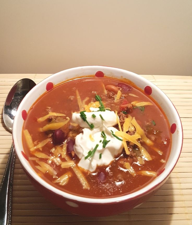 Pressure Cooker Copycat Wendy's Chili Image