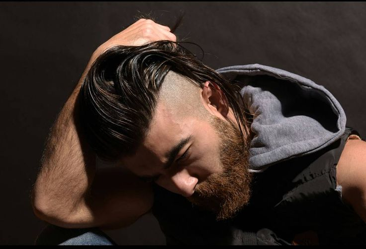 "76 Likes, 8 Comments - Amine sarieddine (@aminesdofficial) on Instagram: ""One of a series Viking hairstyle face shots by @skylinkd.  More on the way✌😙😉"" #model #beard #viking #menwithlonghair #longhair #hairstyle #vikingmen #fashion #portrait #guyshair #tophairstyles #hairstyle2017"