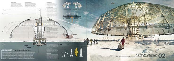 The Best Architecture Portfolio Designs,Submitted by Derek Pirozzi