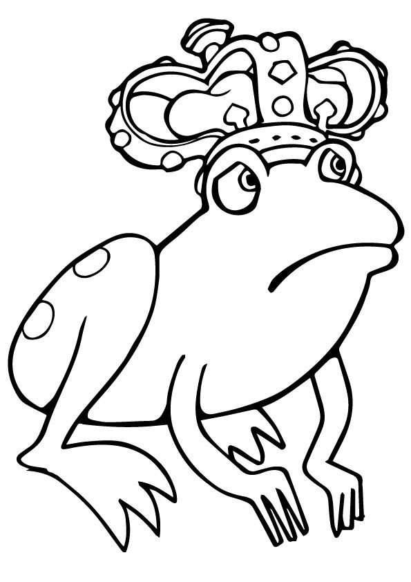 Frog Prince Frog Coloring Pages Coloring Pages Coloring Pictures