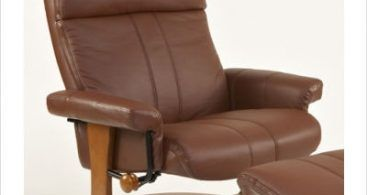 European Classic Recliner With Ottoman   Contemporary   Gliders  Euro Recliner Lounge Chair And Ottoman