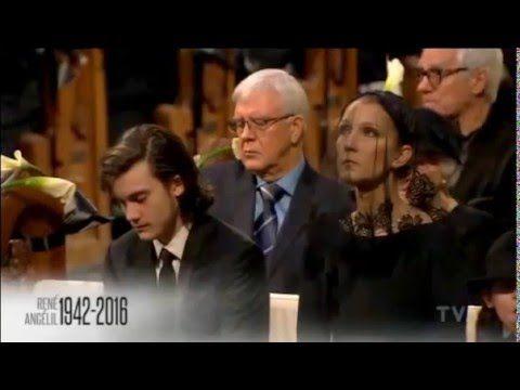 Celine Dion - L'amour Existe Encore - René Angélil's Funeral