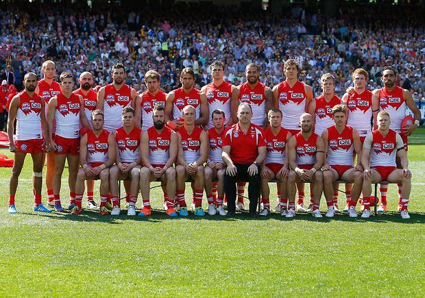 Swans 2014 grand final side