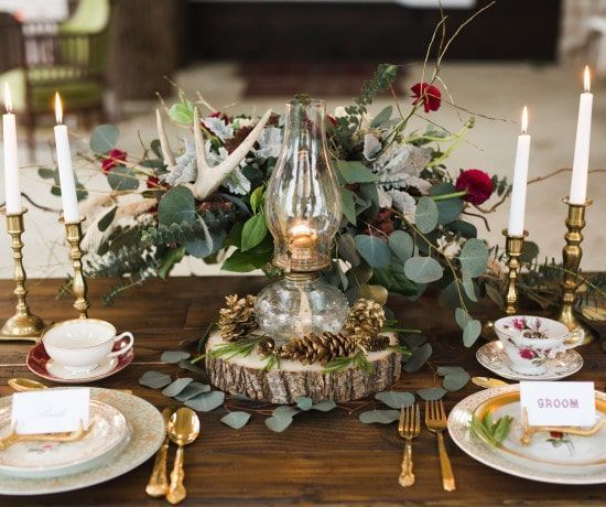 Image result for holiday decor in weddings