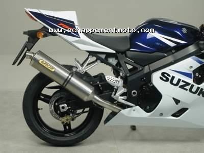 Echappement moto SUZUKI GSX-R 750