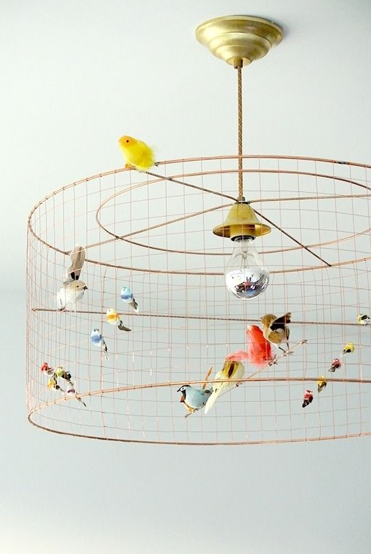 The bird lamp, a creation of French designer Mathieu Challières originally launched in 2006, is available in multiple versions.