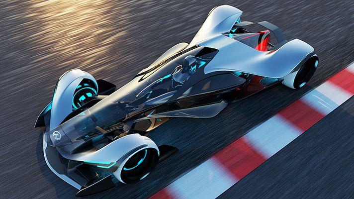 Dies ist der Rennwagen der Zukunft von Infiniti   – Wheelers