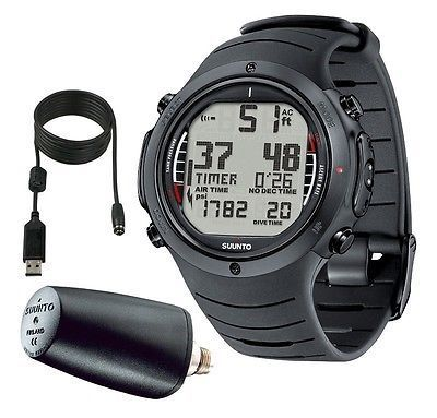 Dive Computers 50882: Suunto D6i Wrist Dive Computer With Transmitter -> BUY IT NOW ONLY: $1049 on eBay! http://www.deepbluediving.org/scuba-bcd-buying-guide/ http://www.deepbluediving.org/cressi-goa-dive-computer-review/ #scubadivingequipmentwatches